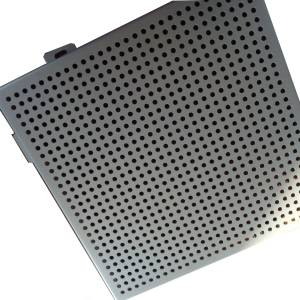 piercing fluorocarbon coating aluminum plate interior ceiling decaoration