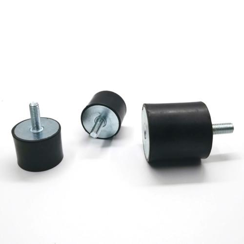 Custom 4 Anti-Vibration Rubber Mounting Buffer M8 metal zinc-plating