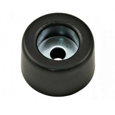 Black Rubber Feet Bumpers with Matching Screws Washer with stainless steel