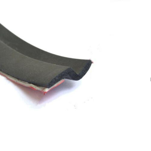 Black Z-shape Rubber Weather Strip Seal Hollow Car Weatherstrip Window Door