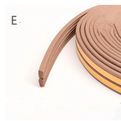 Foam Sponge Rubber Sealing Strip EPDM 3MTape back for Wooden Door Window