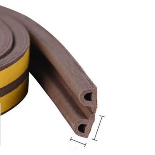 Foam Sponge Rubber Sealing Strip EPDM 3MTape back for Wooden Door Window