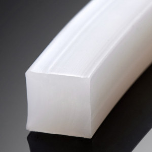 Solid silicone Cord strip square round type Food Grade high temperature