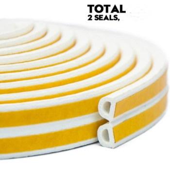 Self-Adhesive Sponge Foam EPDM Rubber profile seal for windows and Doors