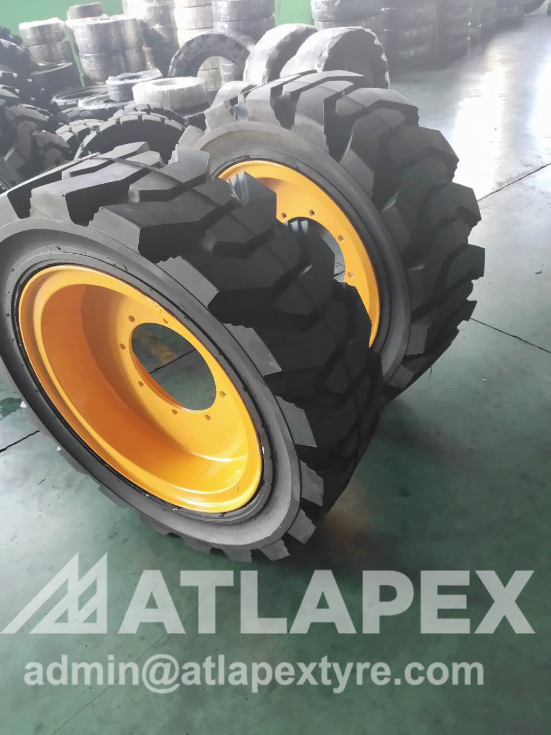 15-19.5  solid tires