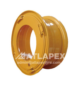 loader wheel and backhoe wheel for Construction use