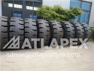 3 stage solid OTR tire