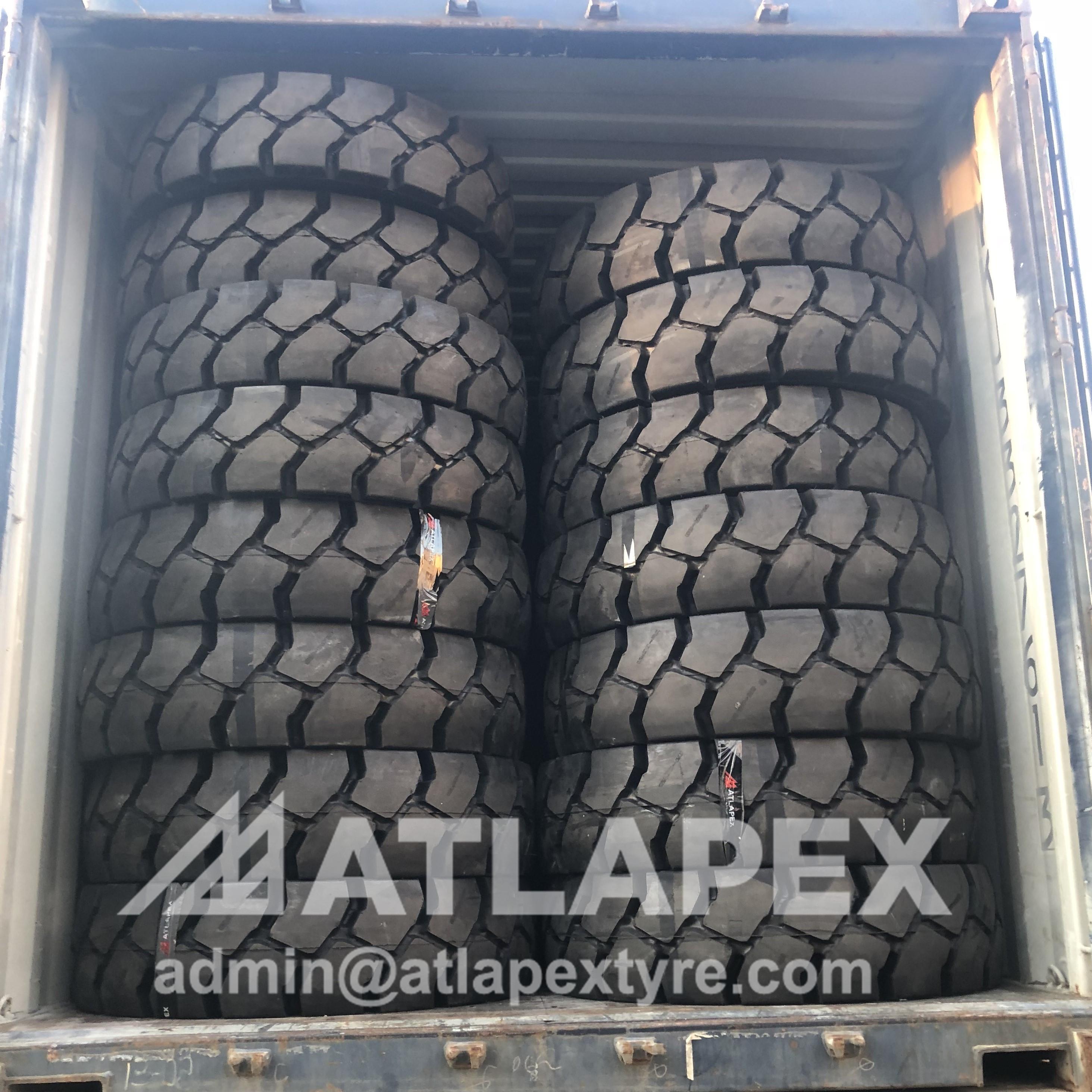 neumático para manipulador de contenedores