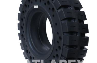 New Design of ATLAPEX solid forklift tires: Apertures