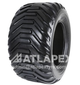 Implement tire 400/60-15.5 with AX-FLTN I-3 for  agricultural implement use