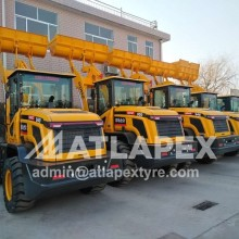 ATLAPEX  tires OE for Qingdao Hezhong Forklfit and Wheel Loaders