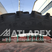 Agricultural tire 12.4-54 R-1 Application for spraying machine