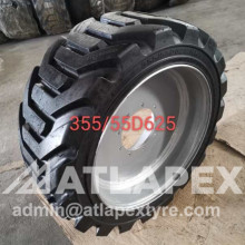 Foam Filled tires 355/55D625 Assembly for Genie S60