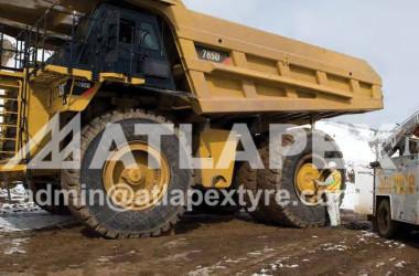 Rueda de minería 51-24.00 / 5.0 5PCS para llanta 33.00-51 RIM en CAT 785D