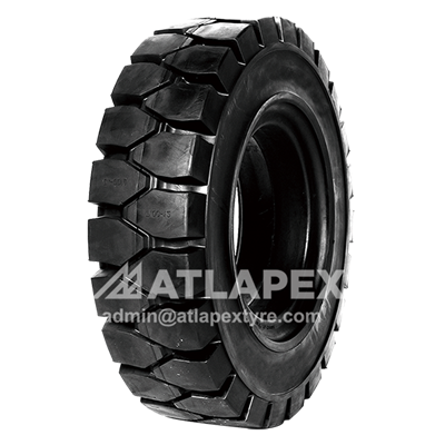 28x9-15 Solid tire ECORUN Pattern for 3 ton forklifts