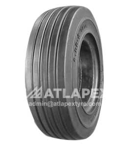 4.00-8 solid tire AP-RIB pattern ATLAPEX SOLID TIRE for Electric forklifts