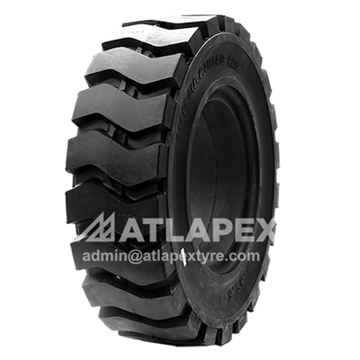 8.25-16 Solid tyre with pattern AP-LUG1 for electric forklift