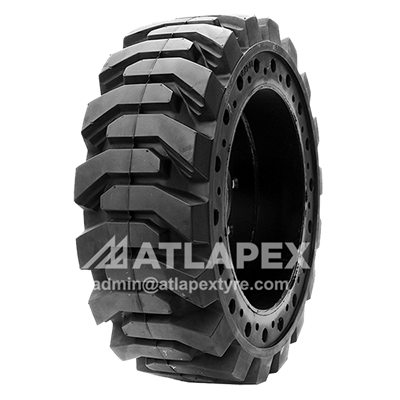 Telehandler solid tire with pattern AP-SKS for Boom lift