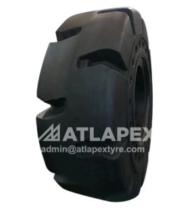 ATLAPEX  Solid wheel loader tires with AP-TOPEX  pattern