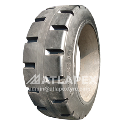 miling machien solid tires with PNTR pattern