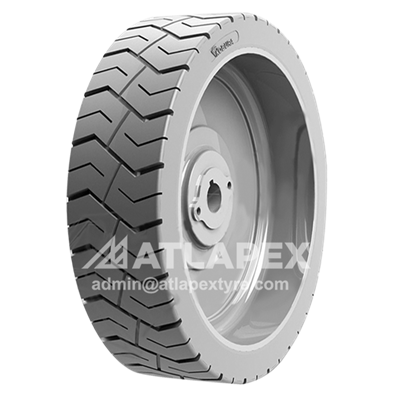 Scissor lift tires with SC-LUG3 pattern