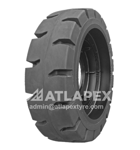 Molded-on Solid 23.5-25 tires with AP-TORKY pattern for loaders