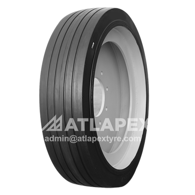 14.00-24 solid trailer tires with AP-RIB pattern for trailer use