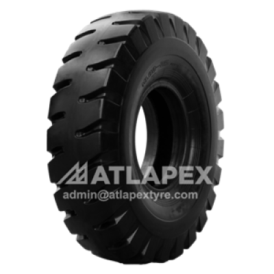 21.00-25 Port tire with AT-E3A pattern for port use