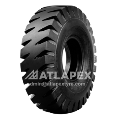 18.00-25 Port tire with AT-E4A pattern for port use