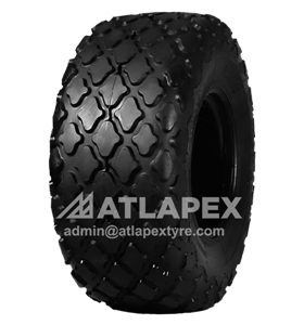 23.1-26 C-1 tire with AT-COM for road compactor
