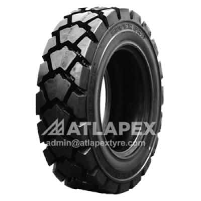 12.5/80-18 L-5 tire with AT-BKR3 pattern for backhoe loader