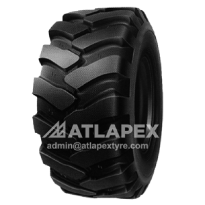 405/70-24 tire with AT-MT2 for backhoe and telehandler use