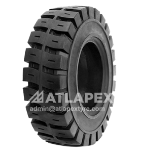 6.50-10 solid tire with AP-LUG3 for forklift  use
