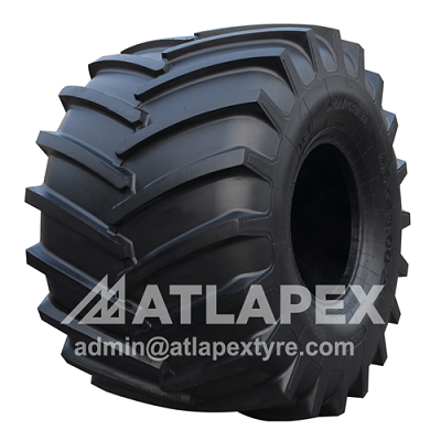 66x43.00-25 tractor tire with AX-HFPRO II R-1 pattern