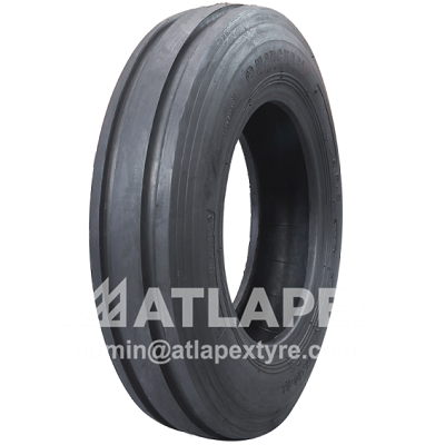 Tractor F-2 tire 11L-15 with AX-3RIB F-2 pattern for tractor front wheel
