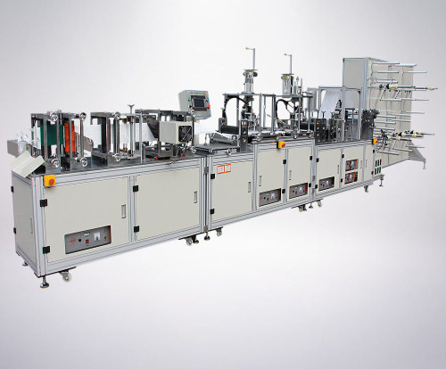 Full Automatic High Speed Disposable  professional facial mask making machine