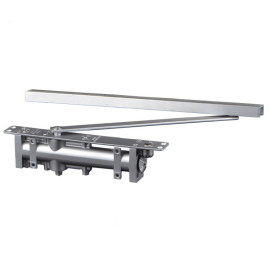 High Quality Heavy Duty EN5 Adjustable Power Hold-open Slide Rail Concealed Hydraulic Door Closer