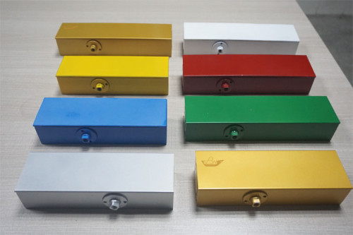 High-quality Optional BC and DA No Left and Right Aluminum Alloy Hydraulic Exposed Door Closer