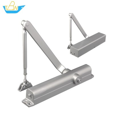 Super Duty Adjustable Power of EN6 Max. 120kg Exposed Installation Aluminum Alloy Door Closer