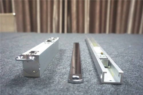 High Quality Slide Rail Concealed and no left and right hand installation Hold-open door closer