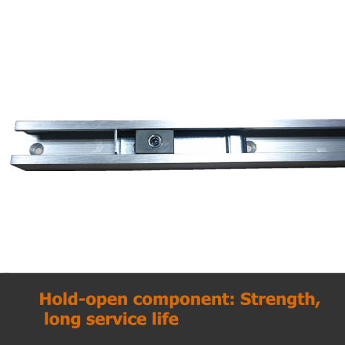 High Quality Hold Open Slide Rail Classic Concealed Aluminum Alloy Hydraulic Door Closer