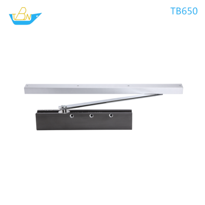 CAM concealed and exposed aluminum alloy door closer with EN2-EN4 can loan 100kg door