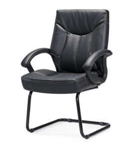 Chaise de bureau en cuir PU à dossier moyen Y&F (HF-366-2)