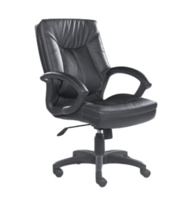 Y&F Middle Back PU Leather Office Executive Chair (HF-366-1)