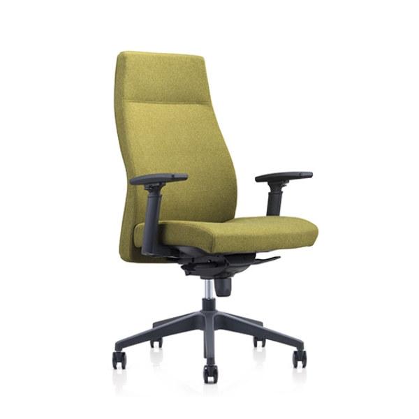 Chaise d'ordinateur Y&F avec dossier haut et accoudoirs réglables en hauteur (YF-820-134)