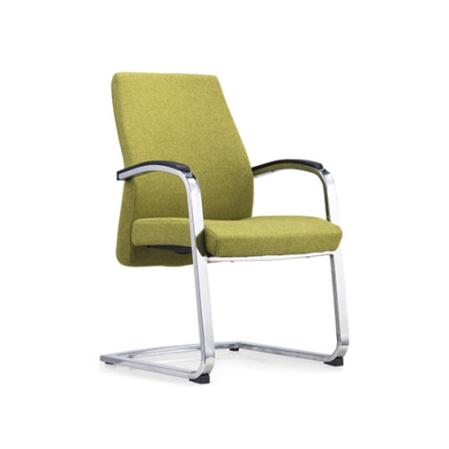 Y&F Mid-Back Mesh Fabric Office Reception and Guest Chair,Metal Frame(YF-1620)