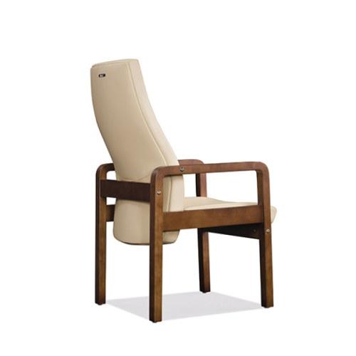 Recepción y silla de invitados de cuero PU de respaldo alto de Y&F (YF-1820A)