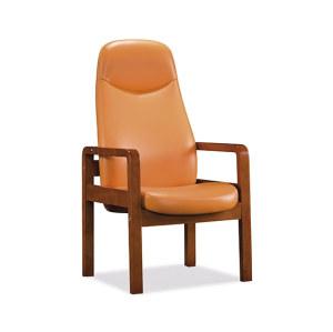 Recepción y silla de invitados de cuero con respaldo alto de Y&F (YF-1823A)