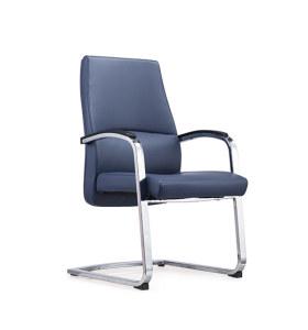 Réception de bureau et chaise d'invité en cuir à dossier moyen Y&F avec structure en métal (YF-1622)