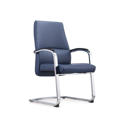 Y&F Mid-Back PU/Leather Office Reception and Guest Chair with Metal Frame(YF-1622)